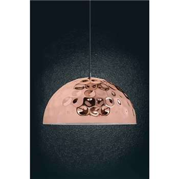 Zenner Copper Pendant Light (22 x 40cm)