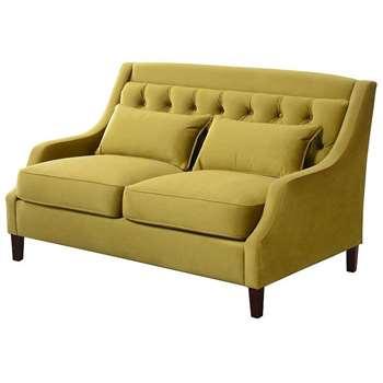 Zeno 2 seat Sofa Lime (H87 x W145 x D87cm)