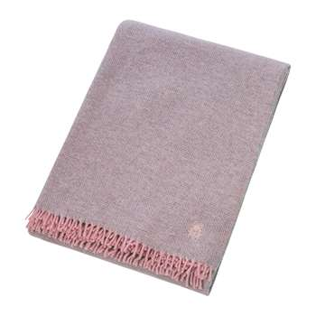 Zoeppritz since 1828 - Must Relax Virgin Wool Blanket - Rose (H130 x W190cm)