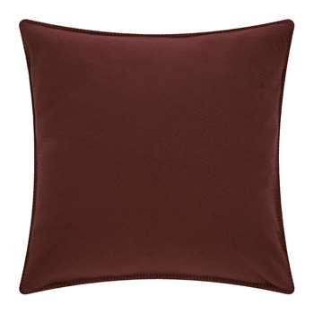 Zoeppritz since 1828 - Soft Fleece Cushion - Wine (H50 x W50cm)