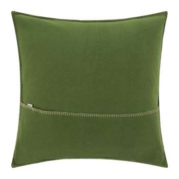 Zoeppritz - Soft Fleece Cushion - 50x50cm - Dark Jade