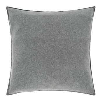 Zoeppritz - Soft Fleece Cushion - Medium Grey (50 x 50cm)