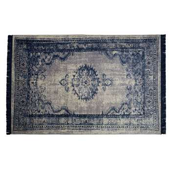 Zuiver Marvel Persian Style Rug in Neptune Blue (H170 x W240cm)