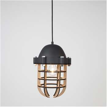 Zuiver Navigator Pendant Light in Black (165 x 22.5cm)